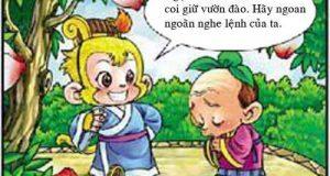 Tây Du Ký Hài (37): Ngộ độc đào tiên