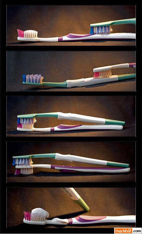 Bàn chải, Đánh răng, Đồ dùng, Chuyện ấy