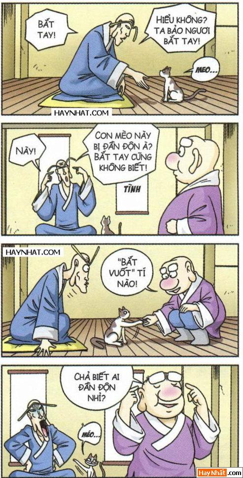 Ô long viện: Bắt tay mèo