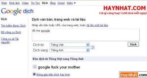 Đừng đùa với Google nhé!