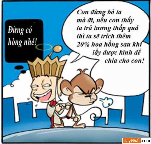 Tây Du Ký, Tân Tây Du Ký, Tay Du Ky, Tan Tay Du Ky, Ton Ngo Khong, Tôn Ngộ Không, tay du ky, tan tay du ky, tay du ky hai, truyen cuoi, chuyen cuoi, truyen tranh, hai huoc, ngo khong, su phụ