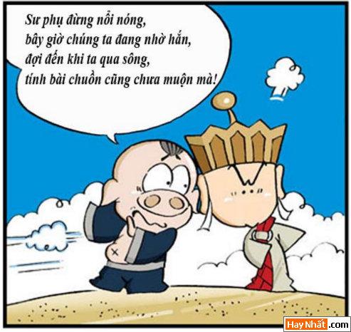 Tân Tây Du Ký (24): Chuồn là thượng sách, Truyện Tây Du Ký, Tân Tây Du Ký, Truyen Tay Du Ky, Tan Tay Du Ky, Ton Ngo Khong, Tôn Ngộ Không, tay du ky, tan tay du ky, tay du ky hai, truyen cuoi, chuyen cuoi, truyen tranh, hai huoc, ngo khong, su phụ