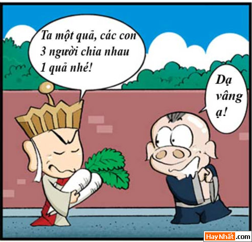 Tân Tây Du Ký (32):Bát Giới ăn Nhân Sâm, Truyện Tây Du Ký, Tân Tây Du Ký, Truyen Tay Du Ky, Tan Tay Du Ky, Ton Ngo Khong, Tôn Ngộ Không, tay du ky, tan tay du ky, tay du ky hai, ngo khong, sư phụ