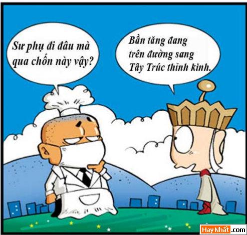 Tân Tây Du Ký (35): Cò y tế, Truyện Tây Du Ký, Tân Tây Du Ký, Truyen Tay Du Ky, Tan Tay Du Ky, Ton Ngo Khong, Tôn Ngộ Không, tay du ky, tan tay du ky, tay du ky hai, ngo khong, sư phụ