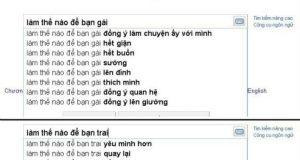 Trai, gái nói gì với Google?