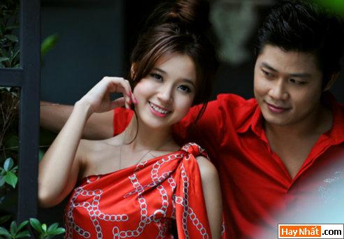 Midu tình tứ cùng nhạc sĩ Nguyễn Văn Chung