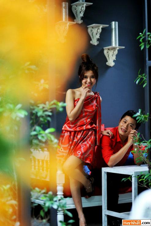 Midu tình tứ cùng nhạc sĩ Nguyễn Văn Chung 5