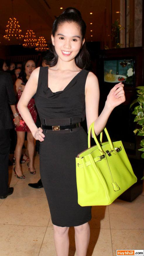 Hoa hậu Ngọc Trinh khoe nét đáng yêu 4