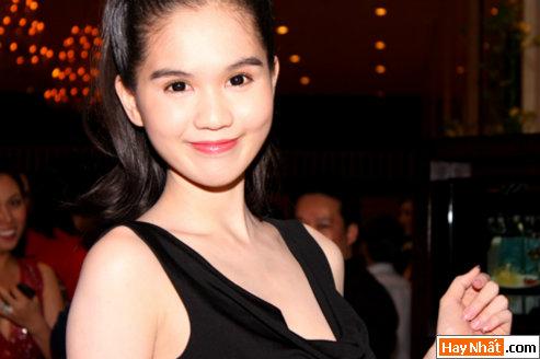 Hoa hậu Ngọc Trinh khoe nét đáng yêu 3