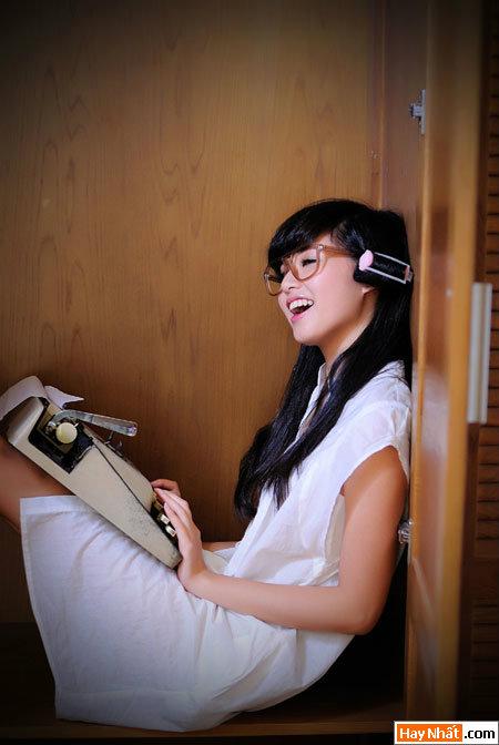 Tâm 'Tít' hóa thân thành nhà văn xinh đẹp 9