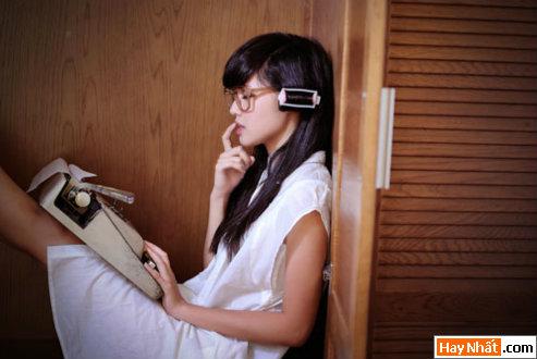 Tâm 'Tít' hóa thân thành nhà văn xinh đẹp 8
