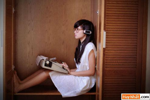 Tâm 'Tít' hóa thân thành nhà văn xinh đẹp 10