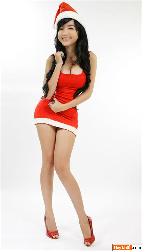 Hot girl Elly làm công chúa Tuyết 4