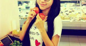 Elly Trần tinh nghịch trong siêu thị