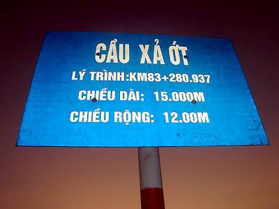 Cầu Xả Ớt nằm trên cửa khẩu Lao Bảo, Quảng Trị