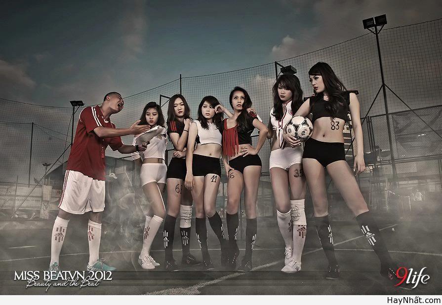 Người đẹp & Euro 2012 (Part 3) 2