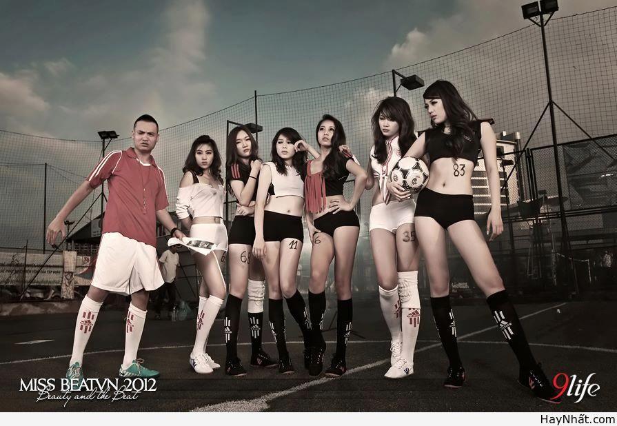 Người đẹp & Euro 2012 (Part 4) 2