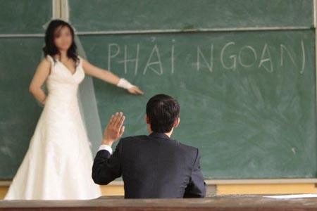 Chỉ có ở Việt Nam - Ảnh vui vợ chồng 1