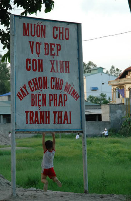 Chỉ có ở Việt Nam - Ảnh vui vợ chồng 2