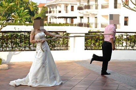 Chỉ có ở Việt Nam - Ảnh vui vợ chồng 13