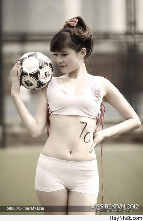 Người đẹp & Euro 2012 3