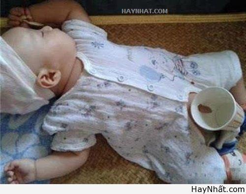 Té ghế với các funny baby 6
