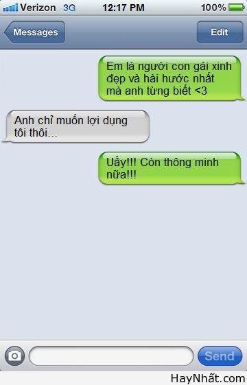 Những tin nhắn cười đứt ruột 1
