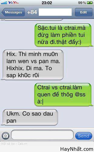 Những tin nhắn cười đứt ruột 3