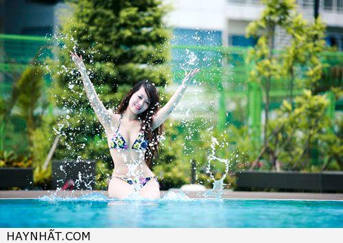 Miss Teen Thu Hà Nóng Bỏng Với Bikini 9