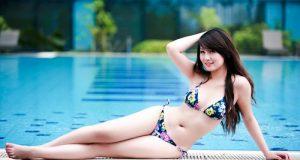 Miss Teen Thu Hà Nóng Bỏng Với Bikini