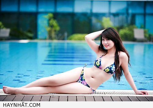 Miss Teen Thu Hà Nóng Bỏng Với Bikini 12