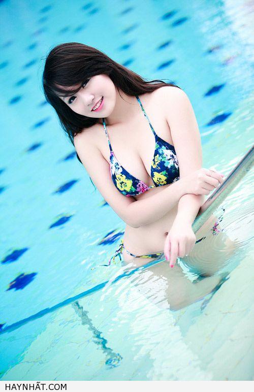 Miss Teen Thu Hà Nóng Bỏng Với Bikini 5