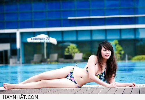 Miss Teen Thu Hà Nóng Bỏng Với Bikini 16