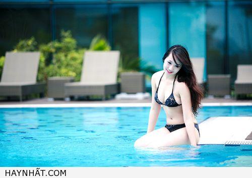 Miss Teen Thu Hà Nóng Bỏng Với Bikini 17