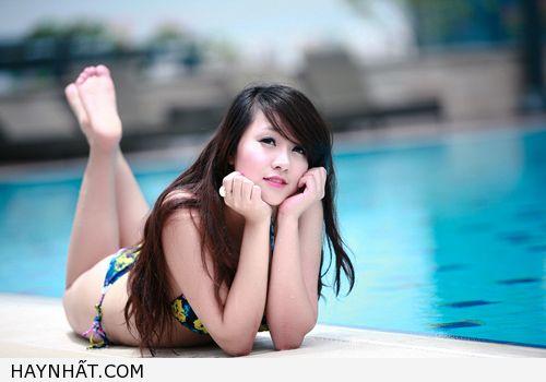 Miss Teen Thu Hà Nóng Bỏng Với Bikini 18