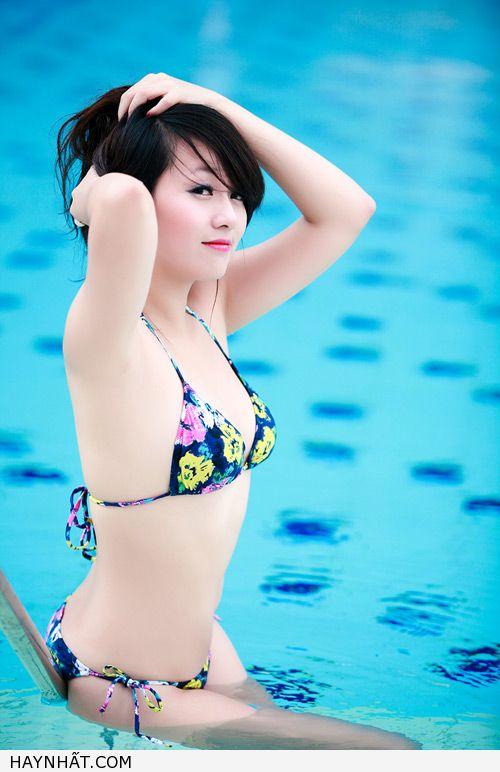 Miss Teen Thu Hà Nóng Bỏng Với Bikini 23