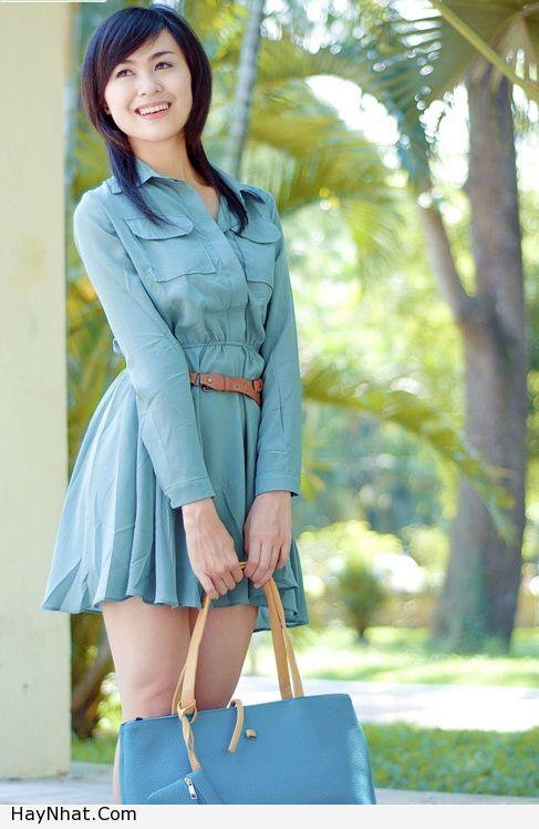 Ngắm vóc dáng của Hotgirl Hoàng Mỹ Linh 4