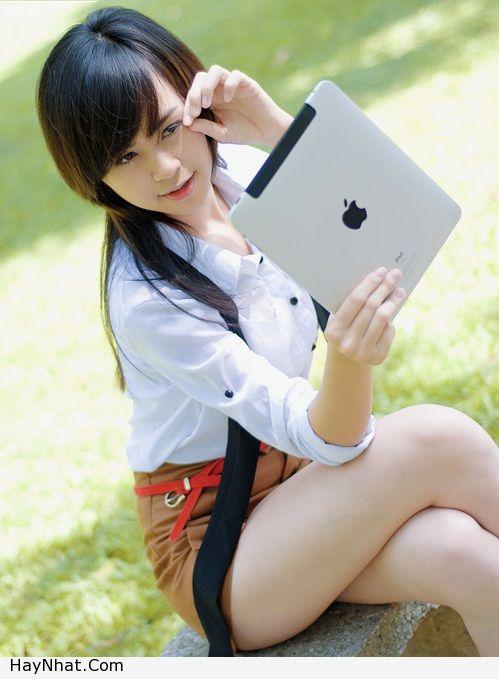 Ngắm vóc dáng của Hotgirl Hoàng Mỹ Linh 13