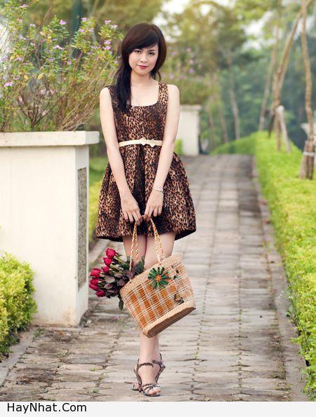 Ngắm vóc dáng của Hotgirl Hoàng Mỹ Linh 5