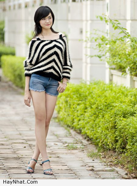 Ngắm vóc dáng của Hotgirl Hoàng Mỹ Linh 6
