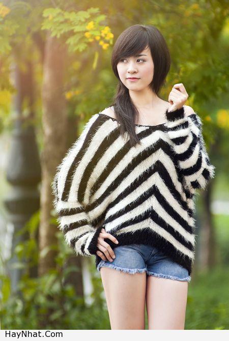 Ngắm vóc dáng của Hotgirl Hoàng Mỹ Linh 7