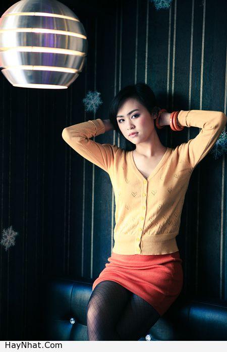 Ngắm vóc dáng của Hotgirl Hoàng Mỹ Linh 8