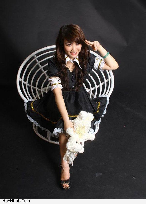 Hotgirl Linh Miu với nụ cười rạng rỡ 1