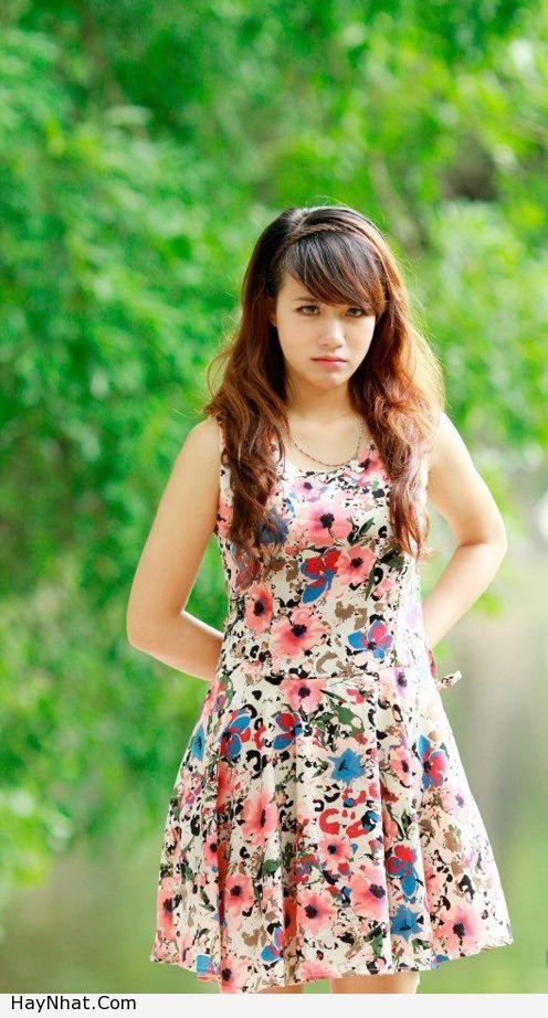 Hotgirl Linh Miu với nụ cười rạng rỡ 6
