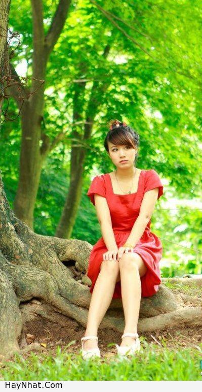 Hotgirl Linh Miu với nụ cười rạng rỡ 7