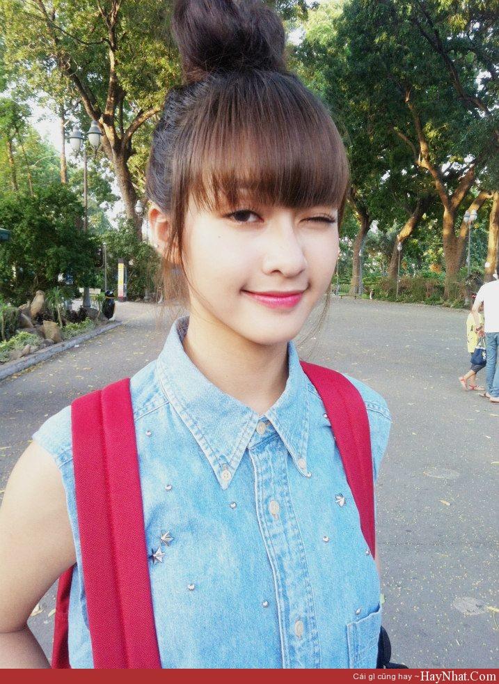 HOT girl Khả Ngân xinh đẹp, cá tính 3