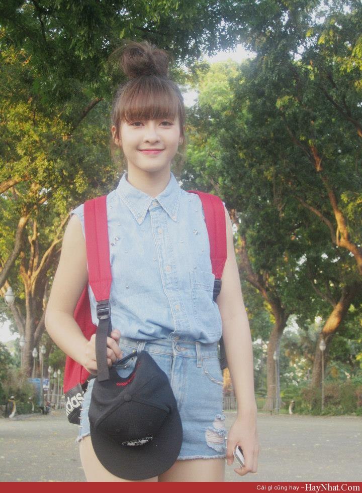 HOT girl Khả Ngân xinh đẹp, cá tính 6
