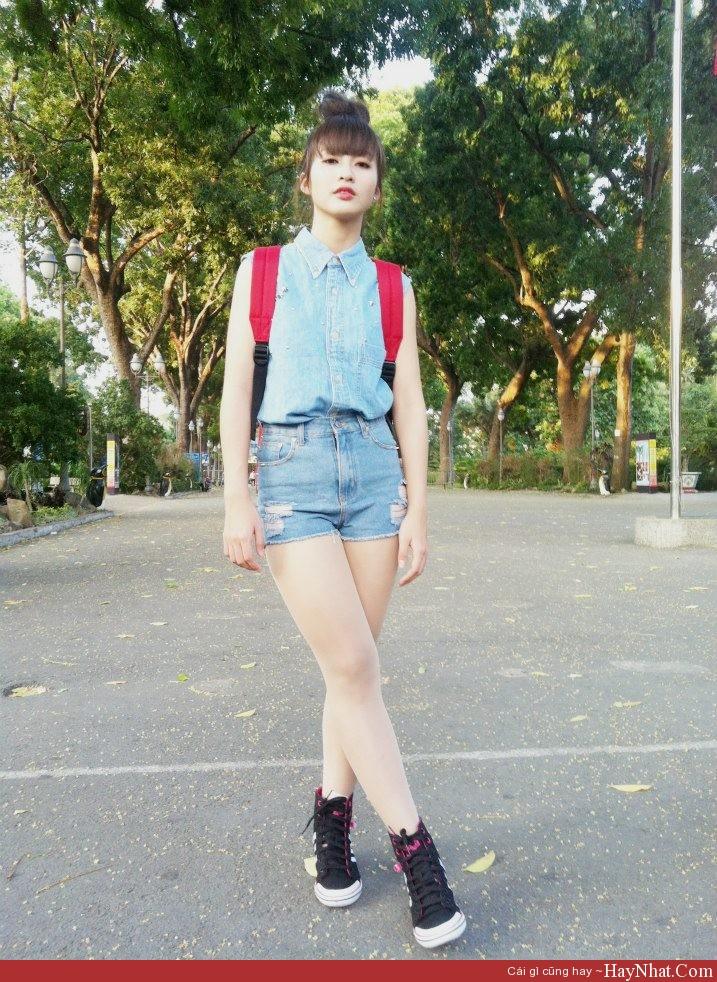 HOT girl Khả Ngân xinh đẹp, cá tính 7