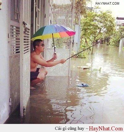 Mùa mưa chỉ thích mỗi thú vui này 1