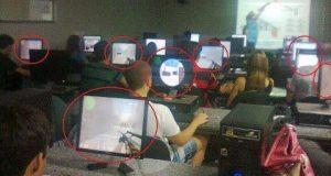 Giờ tin học lớp tôi